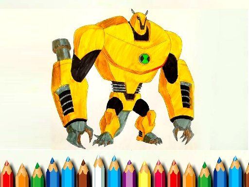 Play Ben10 Monsters Coloring Game