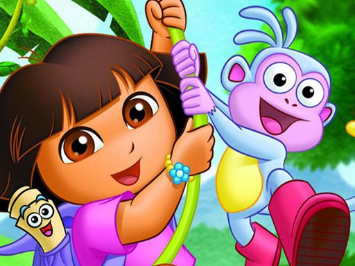 Play Dora Spot The Difference Game
