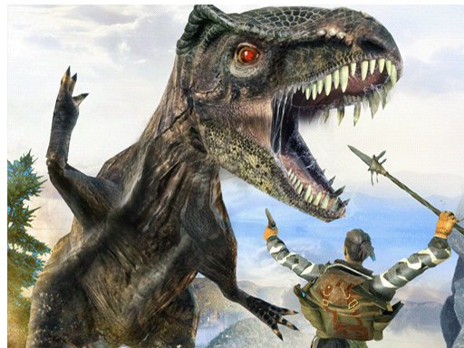 Play Dinosaur Hunting Dino Attack Jigsaw Game