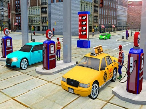 Play City Taxi Driving Simulator Game