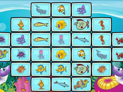 Play Fish Mahjong Game
