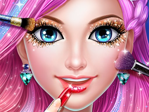 Play Mermaid Dress up & Makeover – Color by Number Game