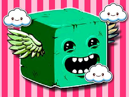 Play Cube Endless Jumping Game
