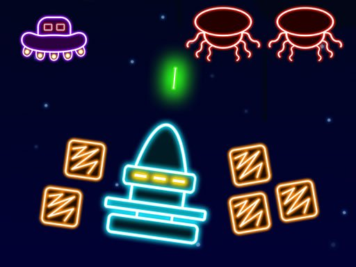 Play Neon Invaders Game