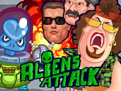Play Aliens Attack Game