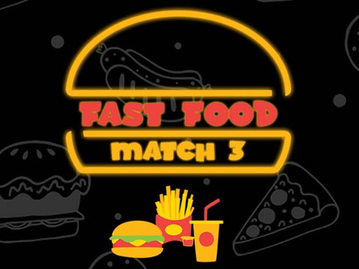 Play Fast Food Match 3 Game