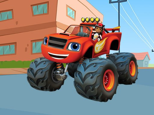 Play Blaze Monster Machines Differences Game