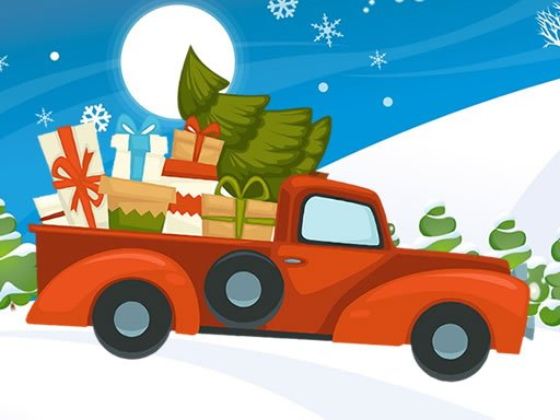 Play Christmas Vehicles Differences Game