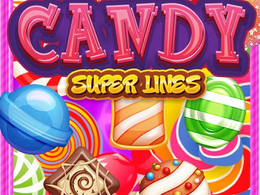 Play Candy Super Lines Game