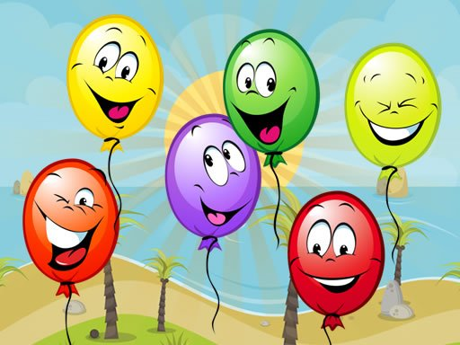 Play Funny Balloons Game