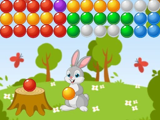 Play Bubble Shooter Bunny Game