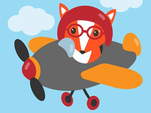 Play Cute Planes Coloring Game