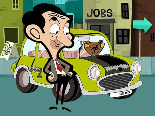Play Mr. Bean's Car Differences Game