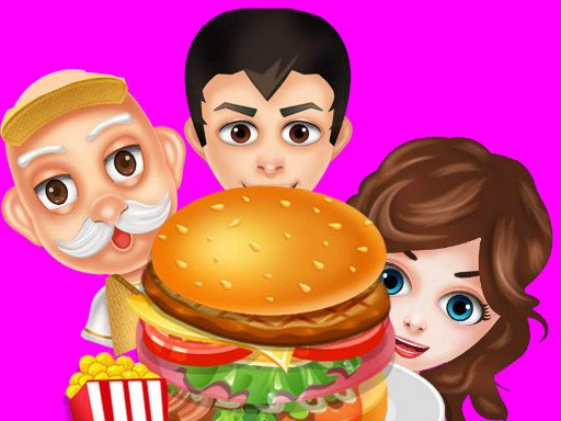 Play Buger Cooking Food Shop Game