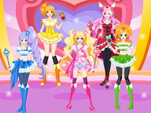 Play Pretty Cure 4 Game