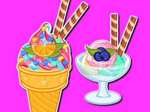 Play Cooking Ice Cream And Gelato Game