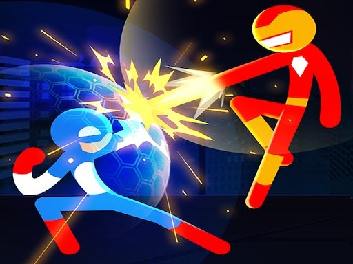 Play Stickman Heroes Fight Game