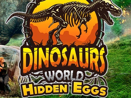 Play Dinosaurs World Hidden Eggs Game