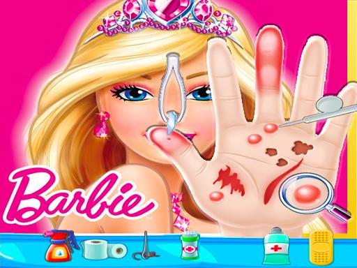 Play Barbie Hand Doctor: Fun Game