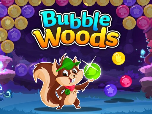 Play Squirrel Bubble Woods Game