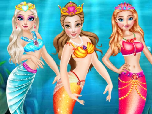 Play Princess Mermaid Style Dress Up Game