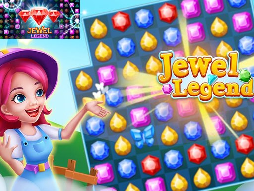 Play Jewels Legend – Match 3 Puzzle Game