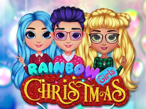 Play Rainbow Girls Christmas Party Game