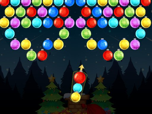 Play Xmas Bubble Army Game