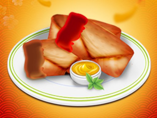 Play Spring Rolls Game