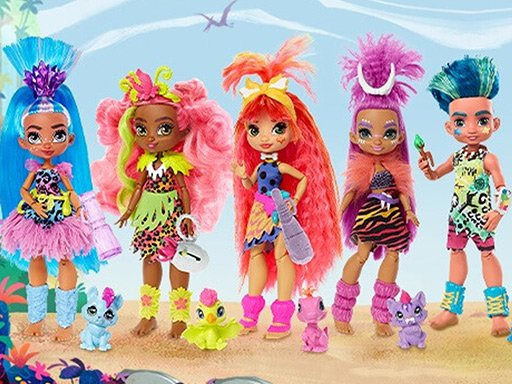 Play Cave Club Dolls Jigsaw Puzzle Collection Game