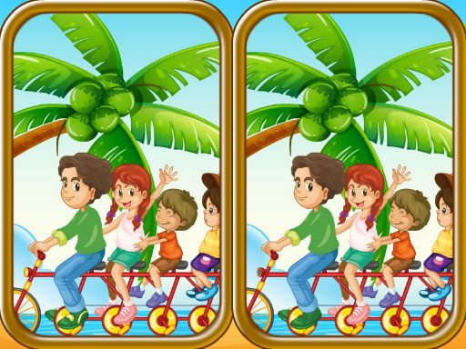 Play Summer Beach Differences Game
