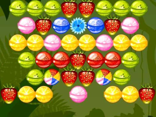 Play Bubble Shooter Fruits Candies Game
