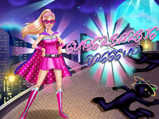 Play Super Barbie Dress Up Game
