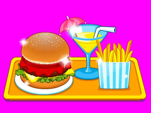 Play Burger Shop Fast Food Game