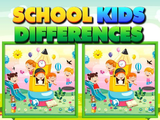 Play School Kids Differences Game