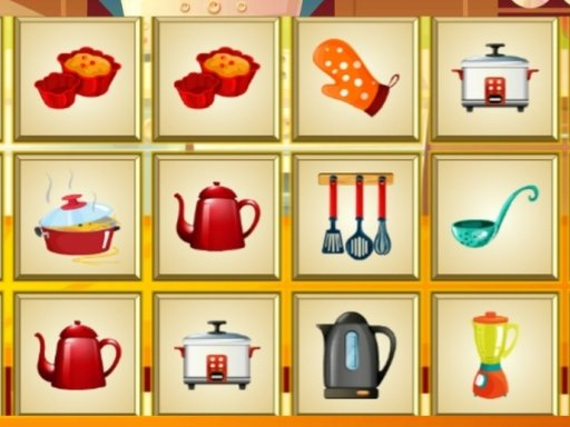 Play Kitchen Item Search Game
