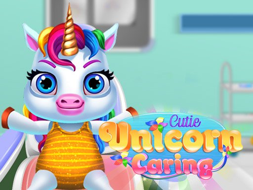 Play Cutie Unicorn Care Game