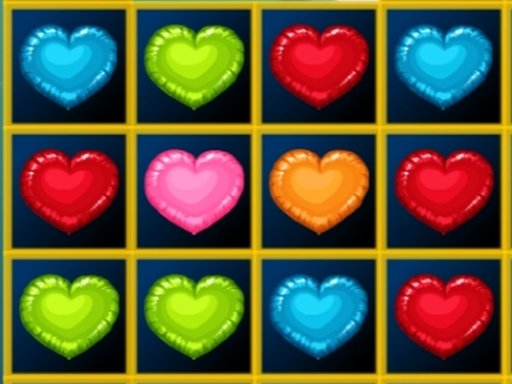 Play Hearts Blocks Collapse Game