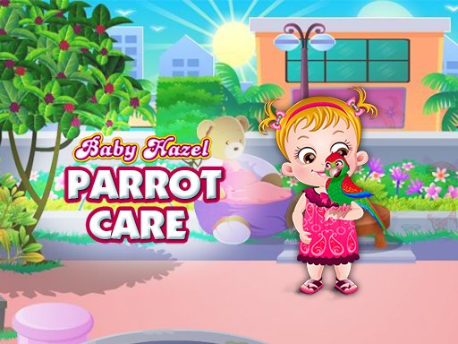 Play Baby Hazel Parrot Care Game