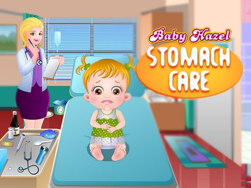 Play Baby Hazel Stomach Care Game