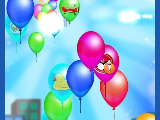 Play Balloon Popping Games Kids Game