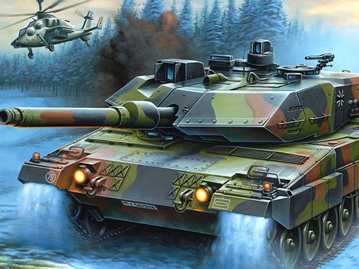 Play War Tanks Jigsaw Puzzle Collection Game