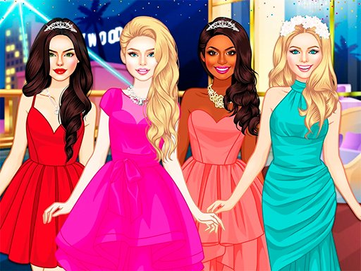 Play Glam Girls Dress Up Game