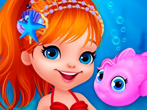 Play Cute Mermaid Dress Up Game