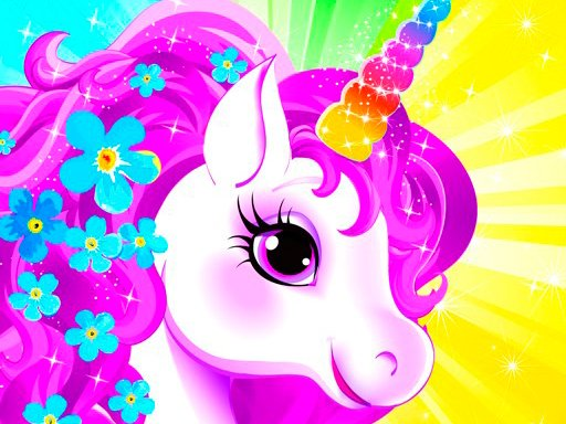 Play Unicorn Dress Up Girls Game