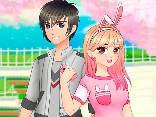 Play Romantic Anime Couples Dress Up Game