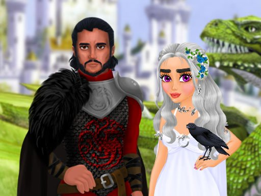 Play Dragon Queen Wedding Dress Game