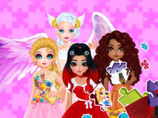 Play Puzzles – Princesses and Angels New Look Game