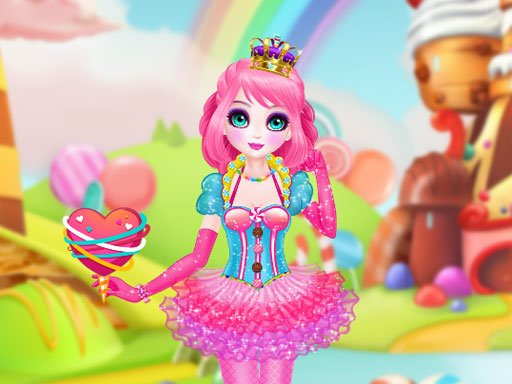 Play Princess Sweet Candy Cosplay Game