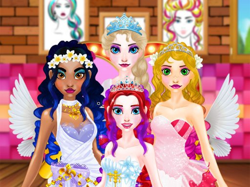 Play Elsa – Wedding Hairdresser For Princesses Game